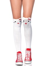 Leg Avenue Goodbye Kitty Knee Socks
