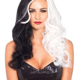 Leg Avenue Two Tone Wavy Villian Wig