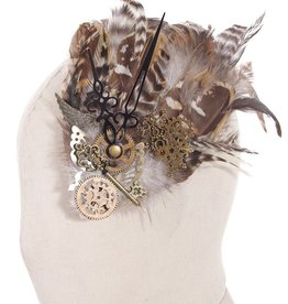 Western Fashion Steampunk Feather Headdress