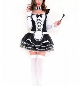 Music Legs Pretty and Proper French Maid