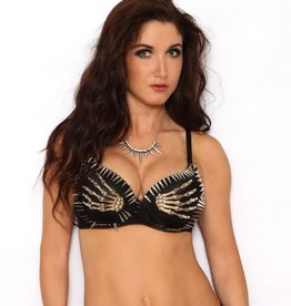 Western Fashion Spike Bra Top