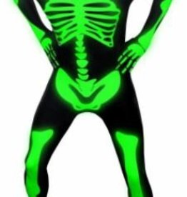 SKS Novelty Skeleton Glow Medium Morph Suit