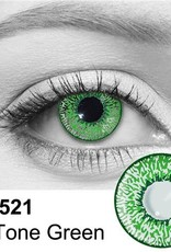Camden 2 Tone green Cosmetic Contacts