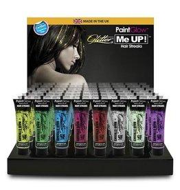 Camden glitter hair streaks