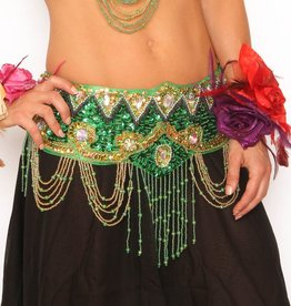 Western Fashion Beaded Belt