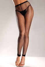 Be Wicked Spandex Net Footless Nylon Tights