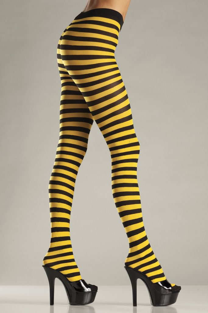Be Wicked Striped Tights