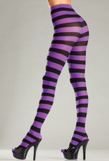 Be Wicked Wide Stripes Opaque tights
