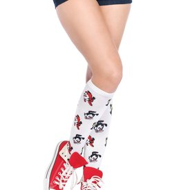 Leg Avenue Animaniacs acrylic knee socks