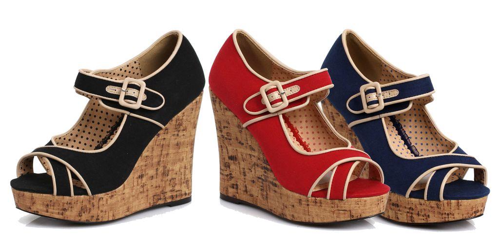 Ellie Shoes Bette Paige 445 Elise Blk
