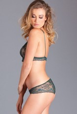 Be Wicked A Green Escape Bra & Panty Set