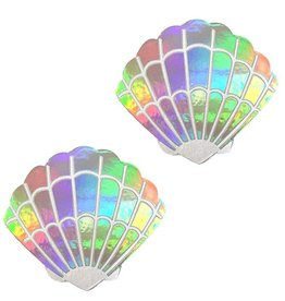 Nipztix Care Bears Stare Mermaid Shell Holographic Pasties
