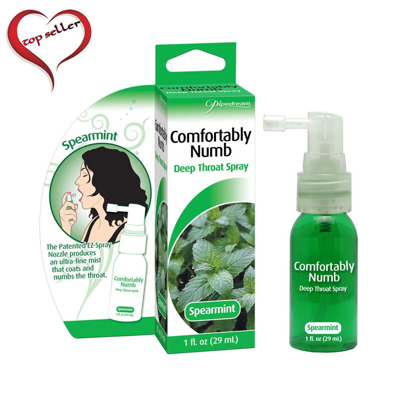 Pipedream Comfortably numb Spearmint throat Spray