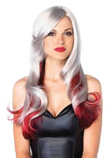 Leg Avenue ALLURE MULTI COLOR WIG O/S GREY/RED