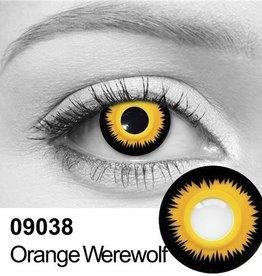 Camden Orange Werewolf Contacts