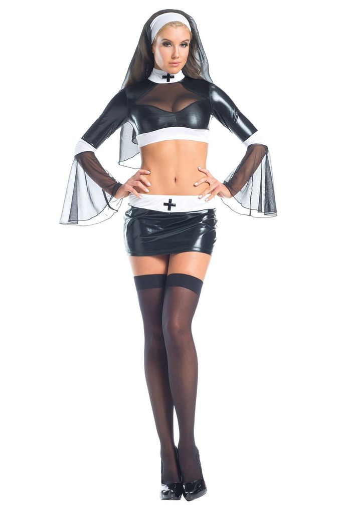 Be Wicked 3 Piece Naughty Nun