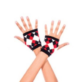 Music Legs Jester Gloves