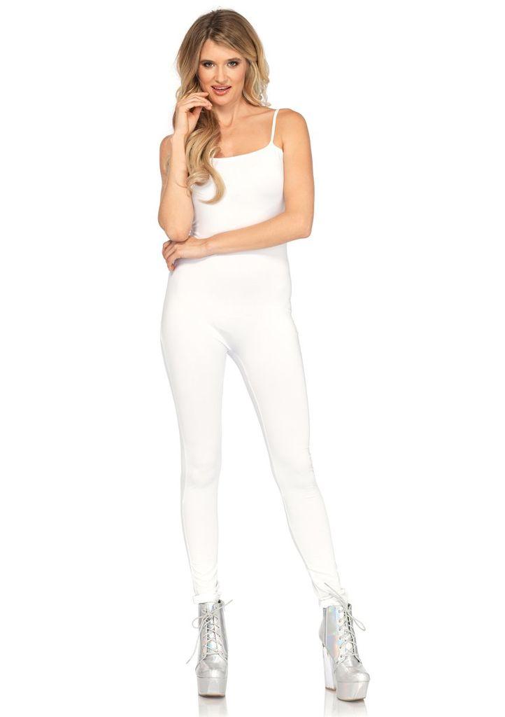 Leg Avenue Basic Unitard White