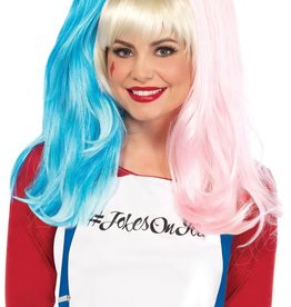 Leg Avenue Deviant Doll Wig with Clip On Pony Tails