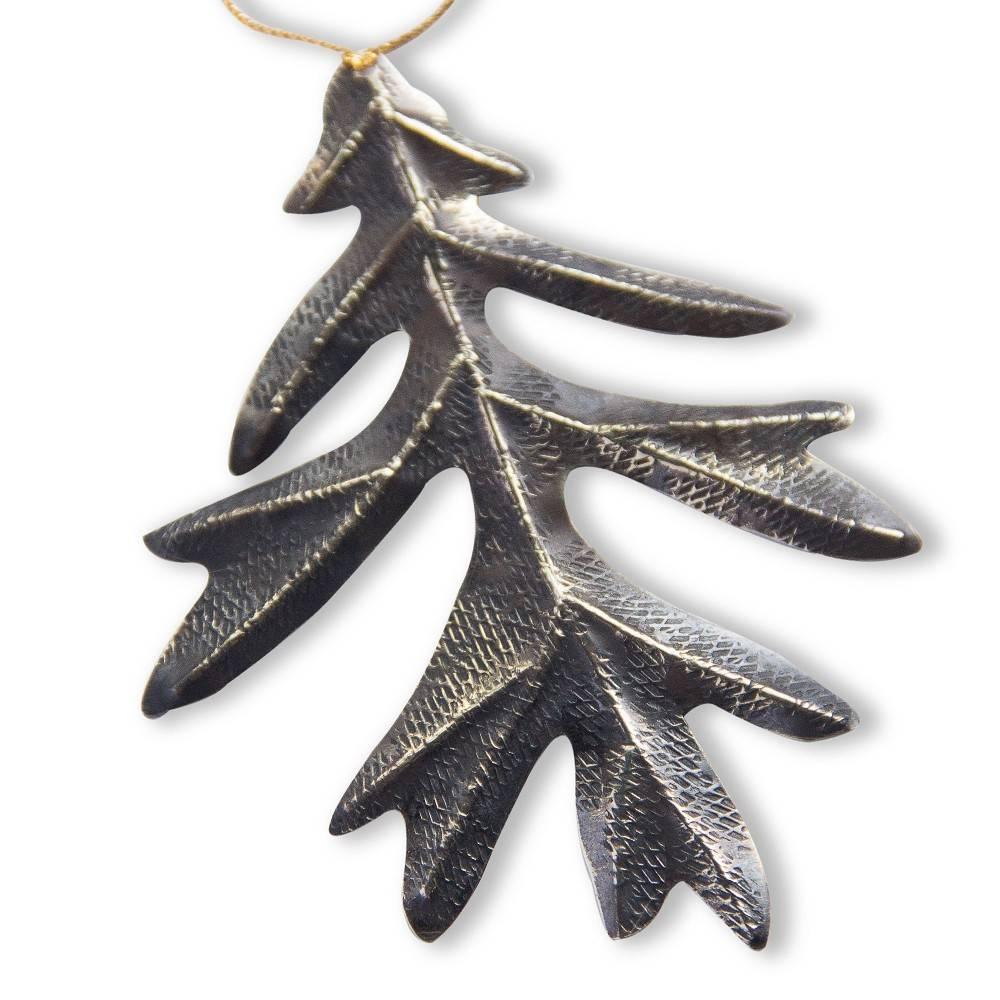 Oak Leaf Ornament (Oxidized)