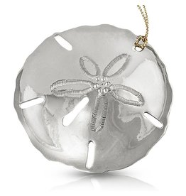 Sand Dollar Ornament - Alpaca