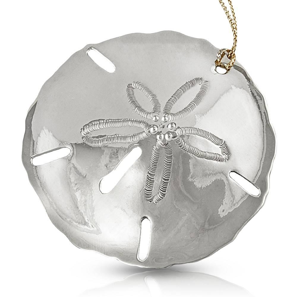 Sand Dollar Ornament - Alpaca