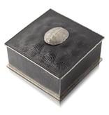 Turtle Shell Keepsake Box - Alpaca