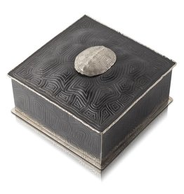 Turtle Shell Keepsake Box