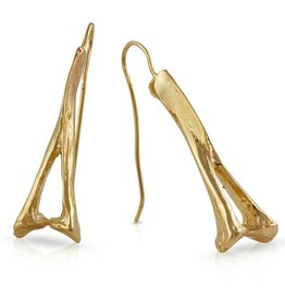 Alligator Spinous Process Earrings