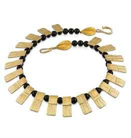 Armadillo Shell Necklace - 14K Gold