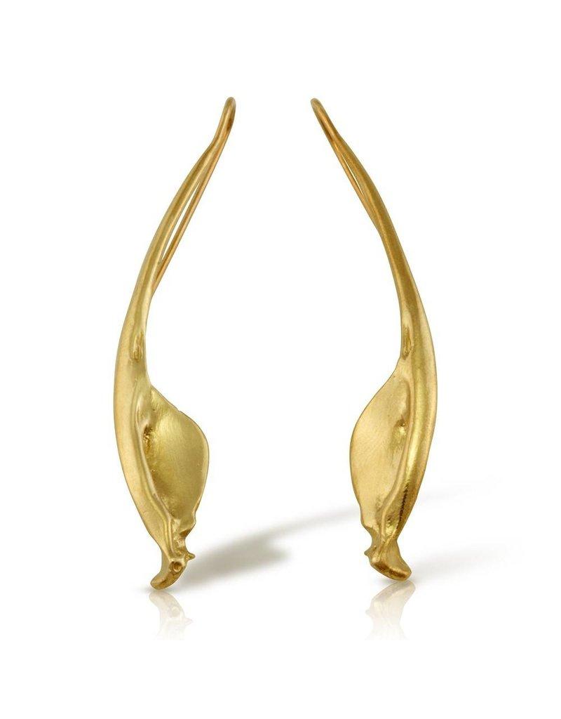 Rattlesnake Jawbone Earrings