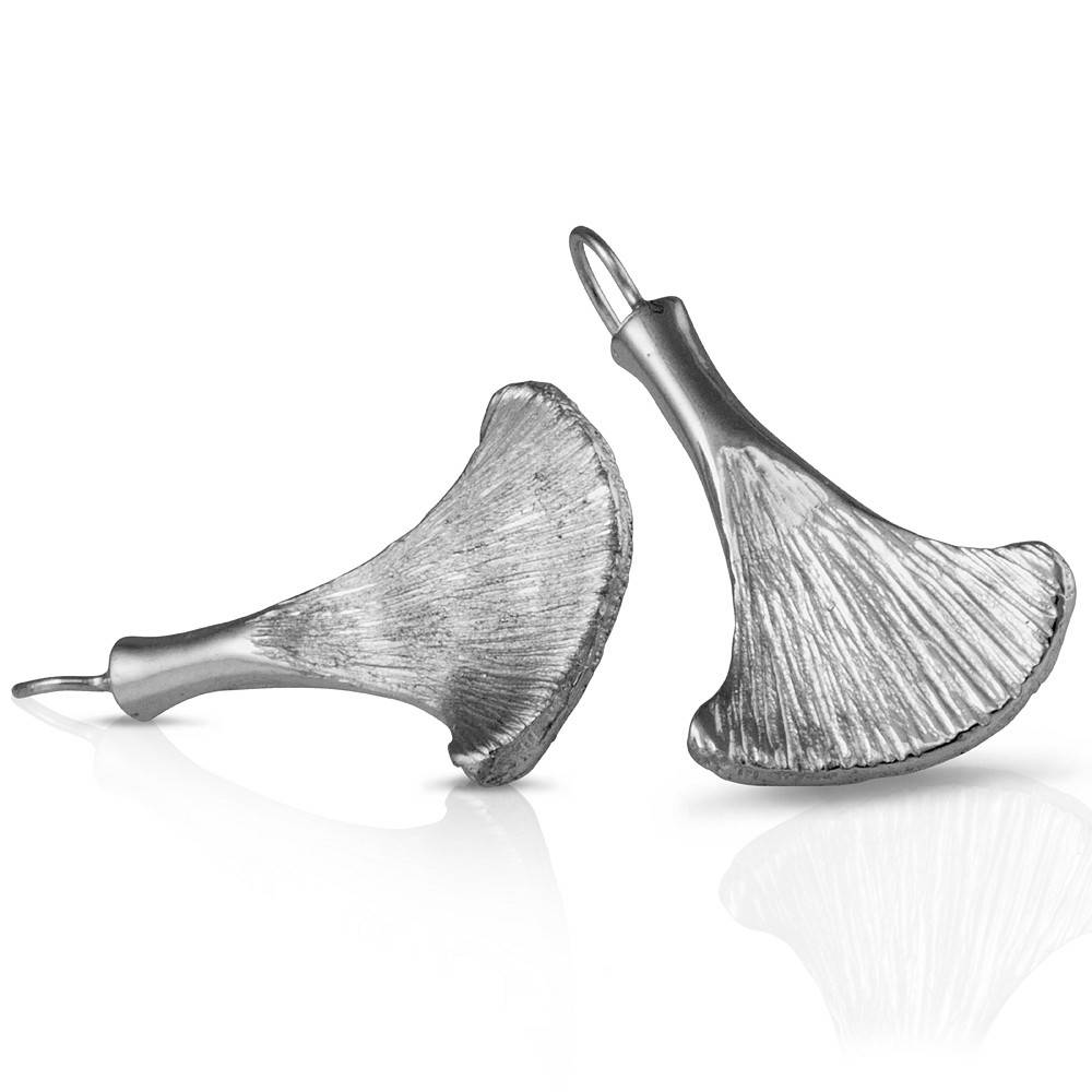 Armadillo Scapula Earrings - Sterling Silver