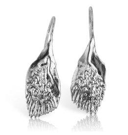Garfish Scale Earrings