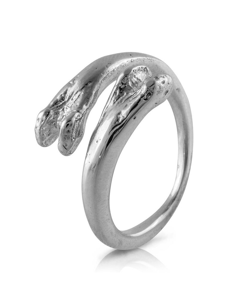 Raccoon Pecker Ring