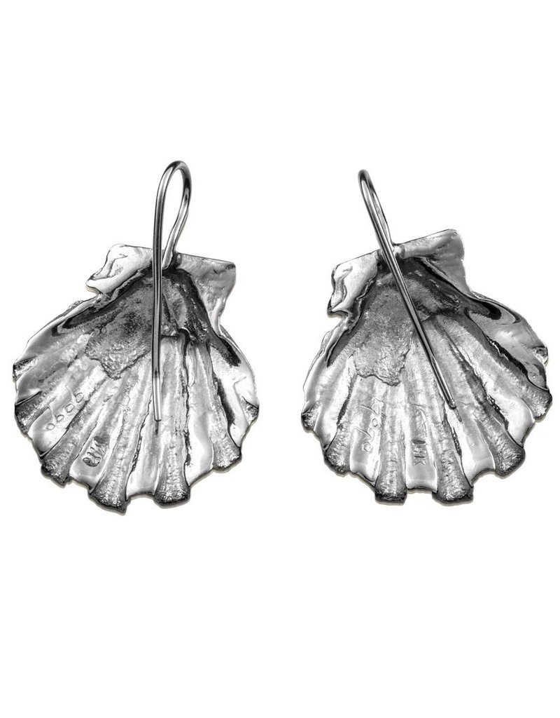 Scallop Shell Earrings (Wire)