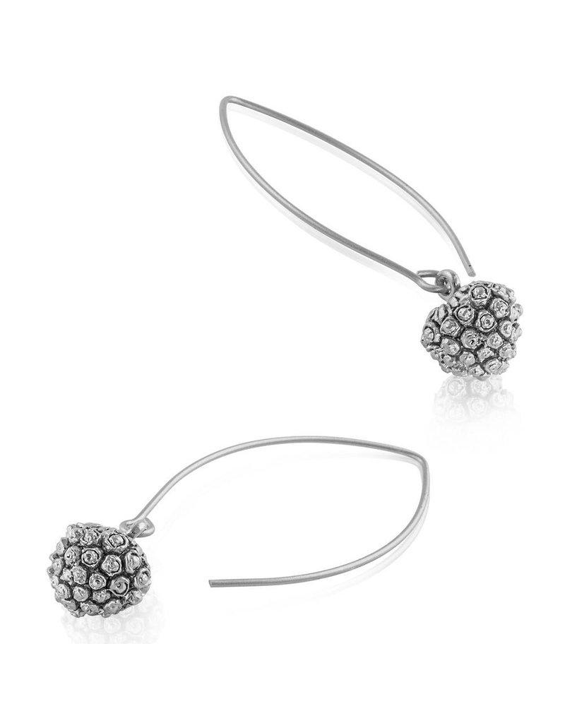 Kousa Dogwood Fruit Earrings