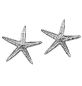 Starfish Earrings - Sterling Silver (Post)