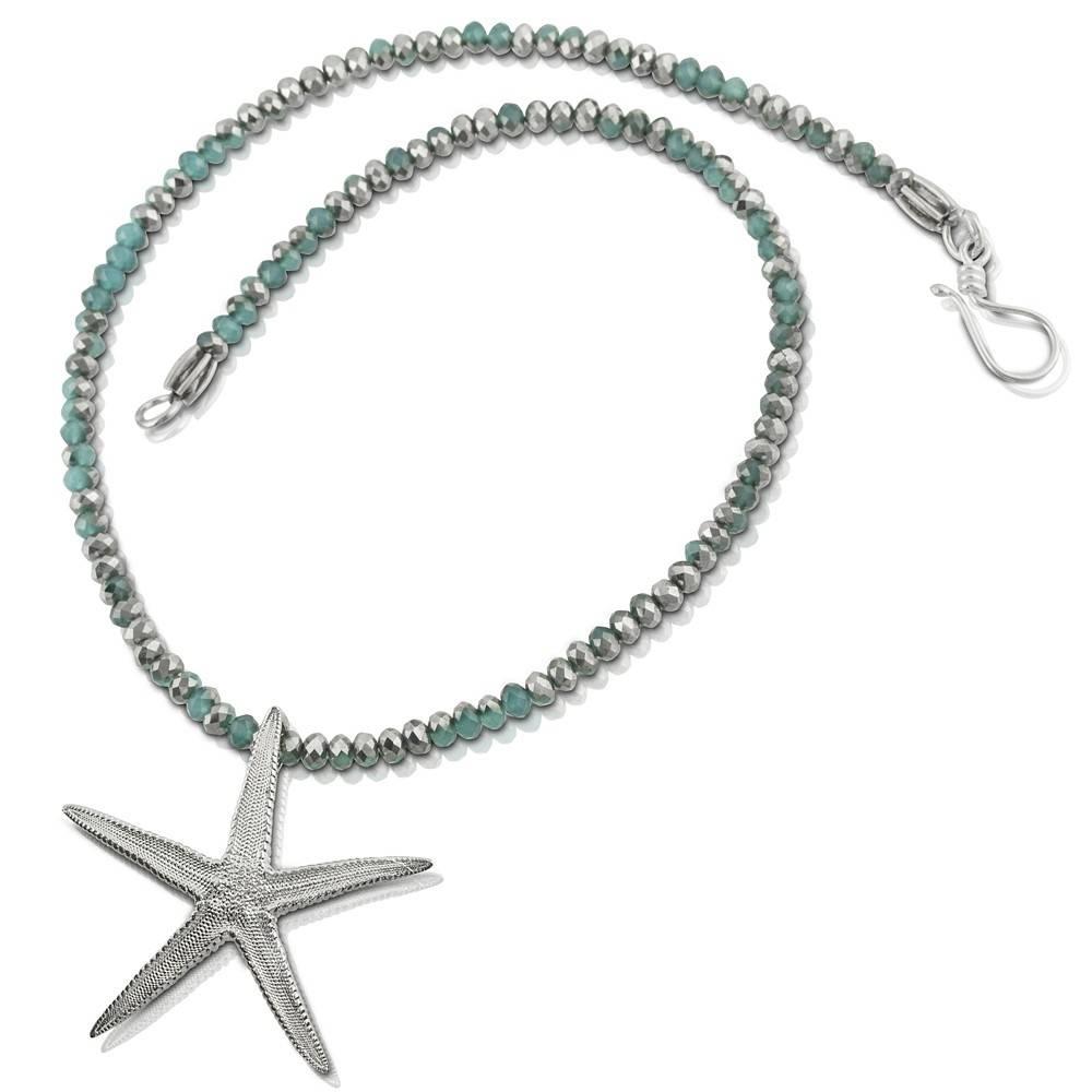 Starfish Pendant Necklace (Large)