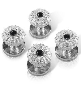Sea Urchin Shirt Studs (Black)
