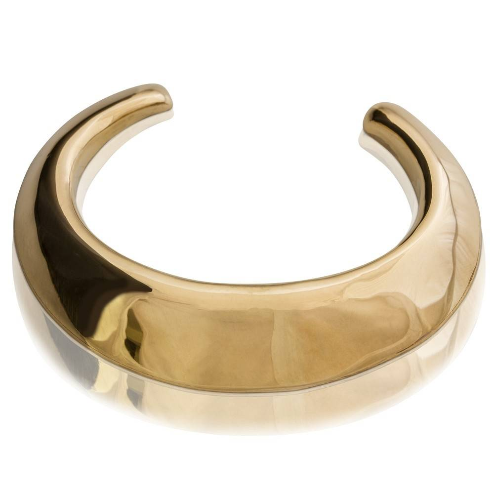 Boars Tusk Cuff - Tumbaga (Small) - Shiny