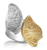 Armadillo Scapula Ring - Two Toned
