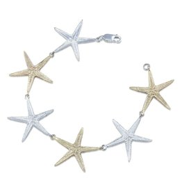 Starfish Bracelet - Two Toned