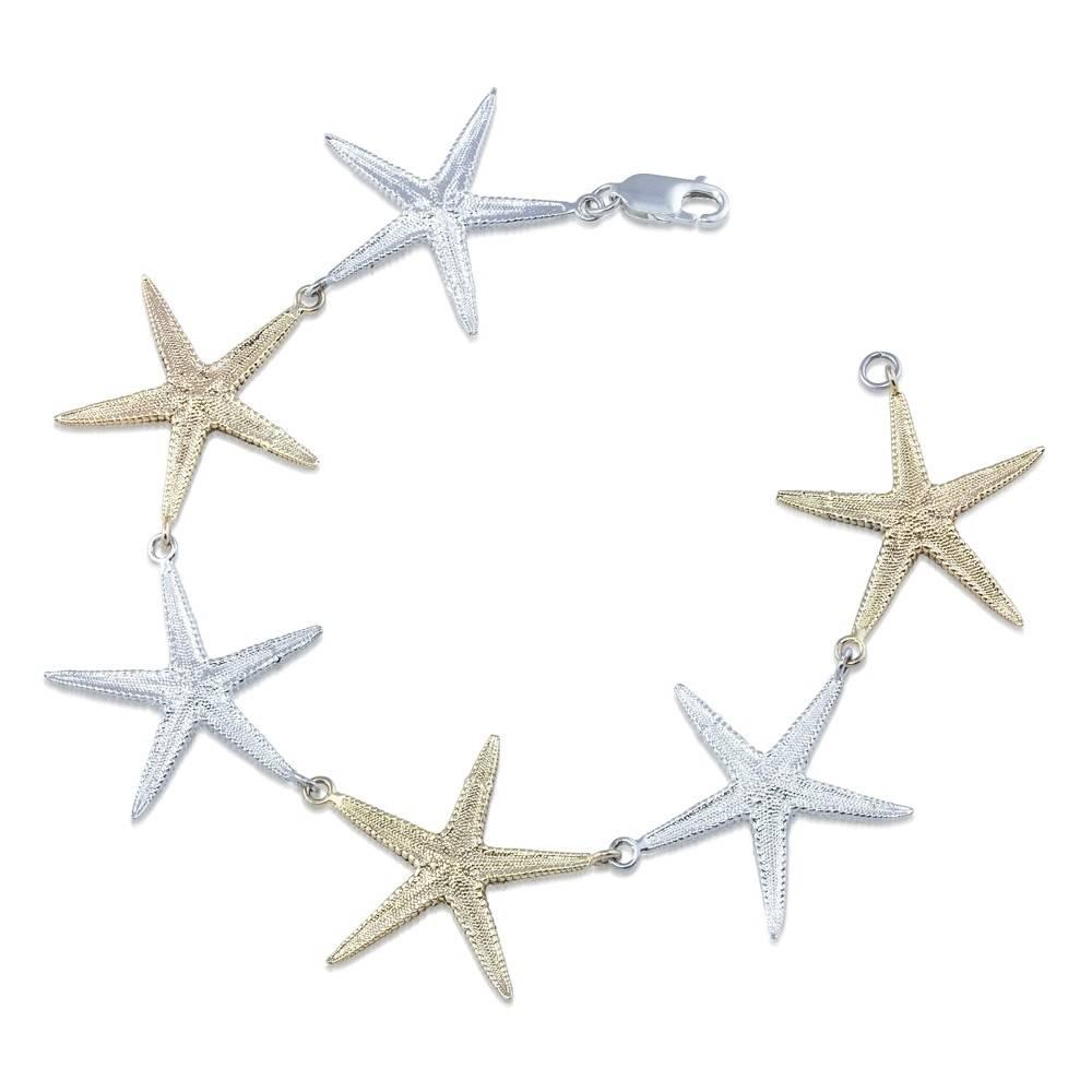 Starfish Bracelet - Two Tone