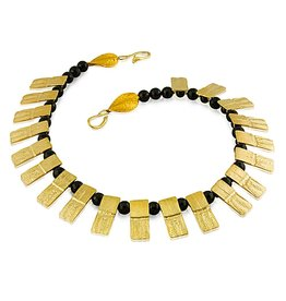 Armadillo Shell Necklace - Vermeil