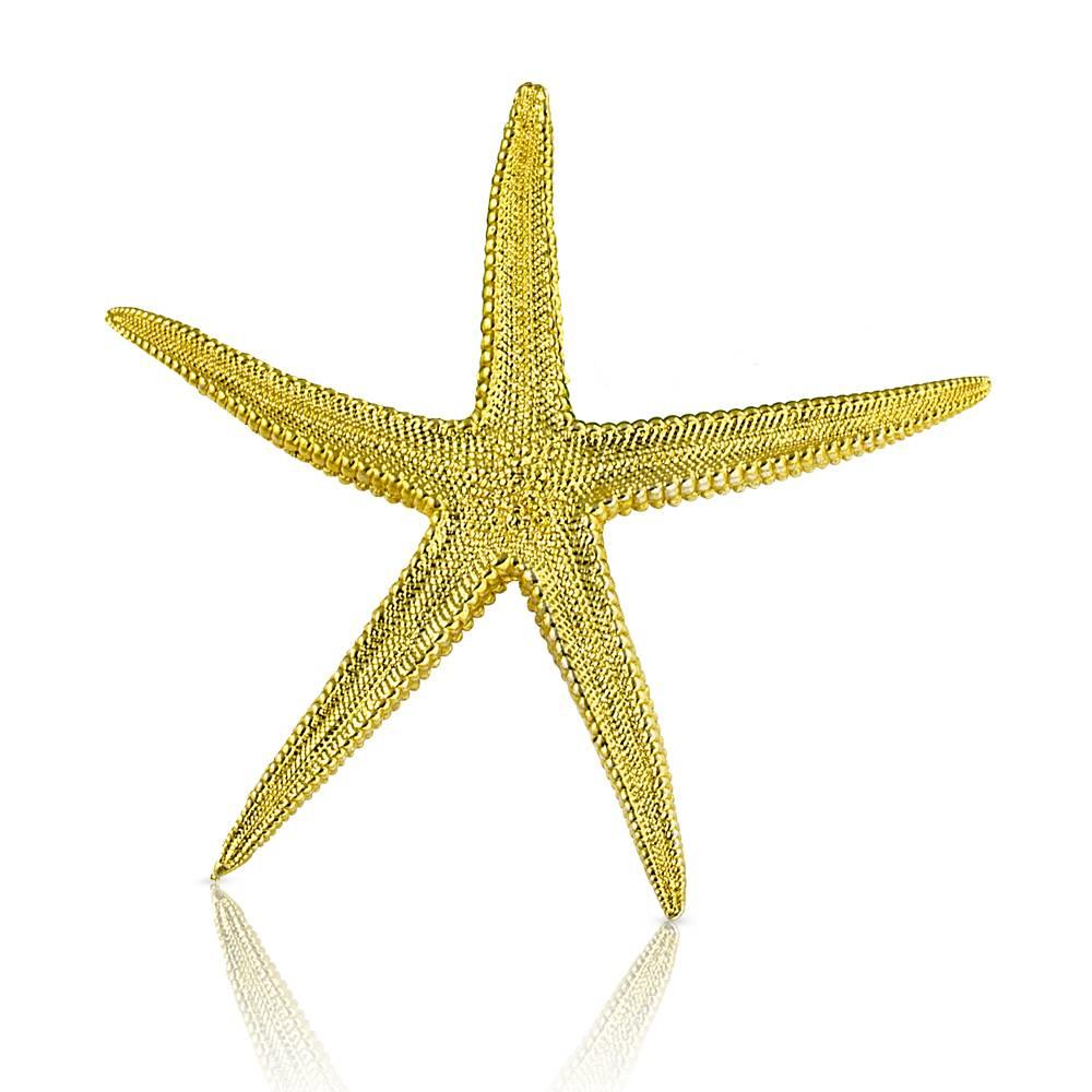Starfish Enhancer - Vermeil (Large)