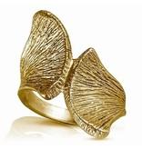 Armadillo Scapula Ring - Vermeil