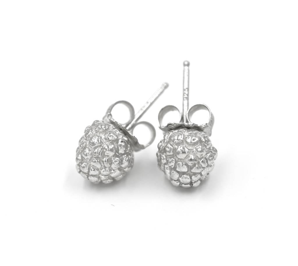 Kousa Dogwood Post Earrings - Sterling Silver