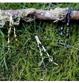 New England Seaweed Earrings - Alpaca - Post