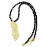 Sea Oats Pendant Necklace - Vermeil