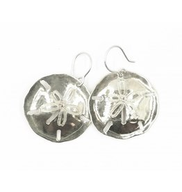 Sand Dollar Earrings - Alpaca